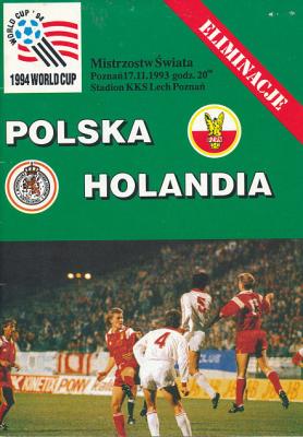 Polska - Holandia 1993 Poznań