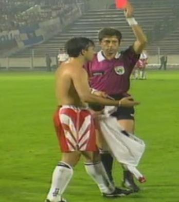 Słowacja - Polska 4-1 1995. Źródło: TVP