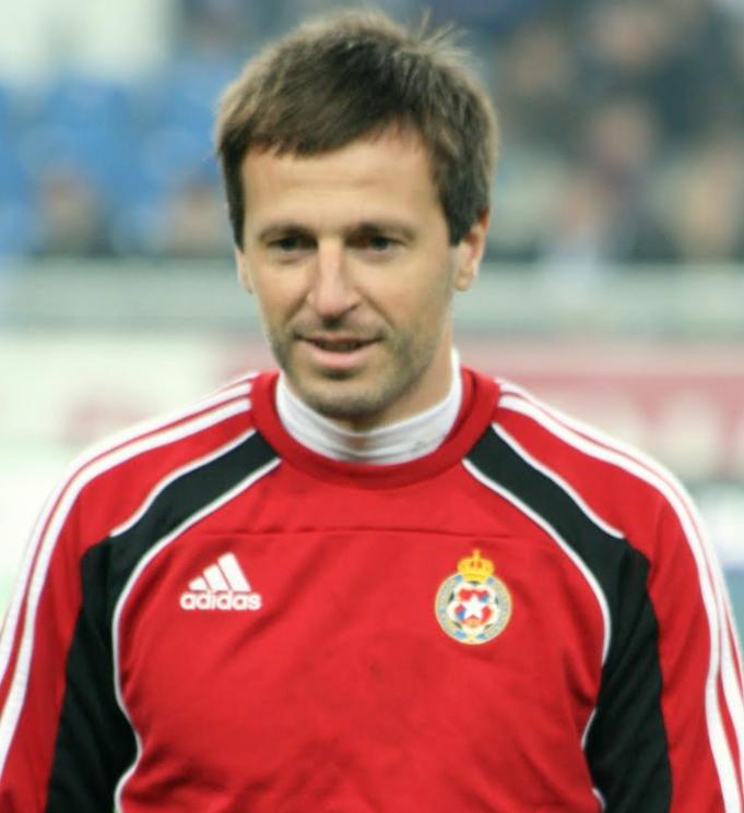 Maciej Żurawski w meczu z Słowacją zadebiutował w Reprezentacji Polski