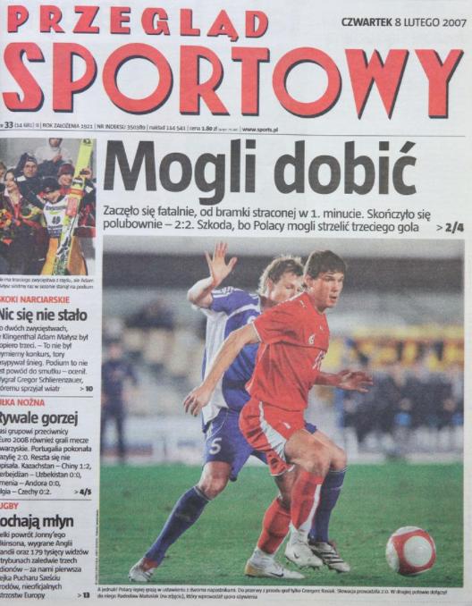 Polska - Słowacja 2007