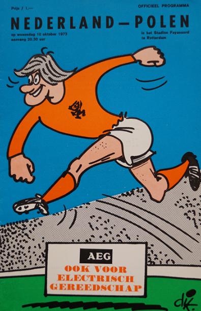 Holandia -Polska 1973 program