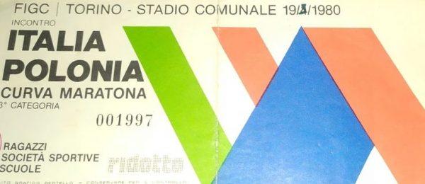 Włochy - Polska 2:2 (19 kwietnia 1980 r.)