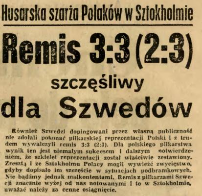 Szwecja-Polska 1964.