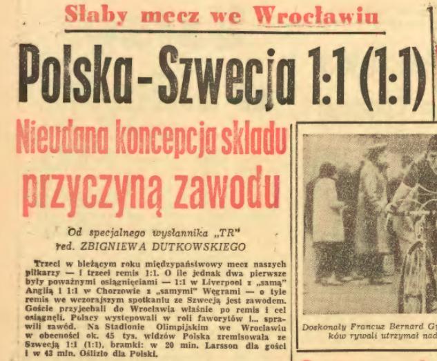 Polska-Szwecja 1966