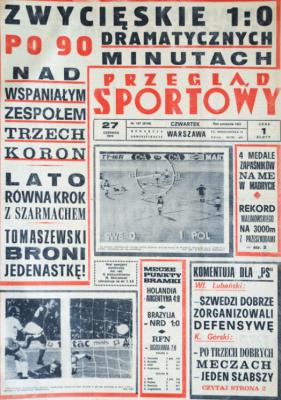 Polska- Szwecja 1974