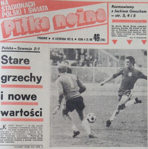 Polska-Szwecja 1977