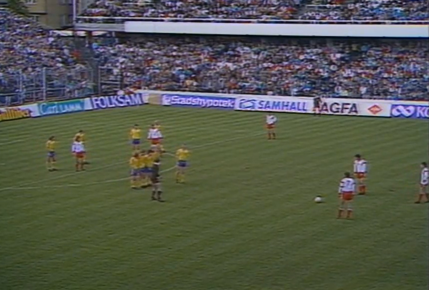 Szwecja-Polska 7 maja 1989