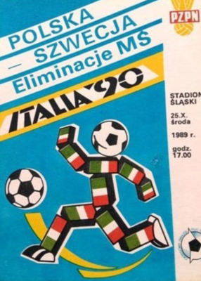 Polska - Szwecja 25 października 1989