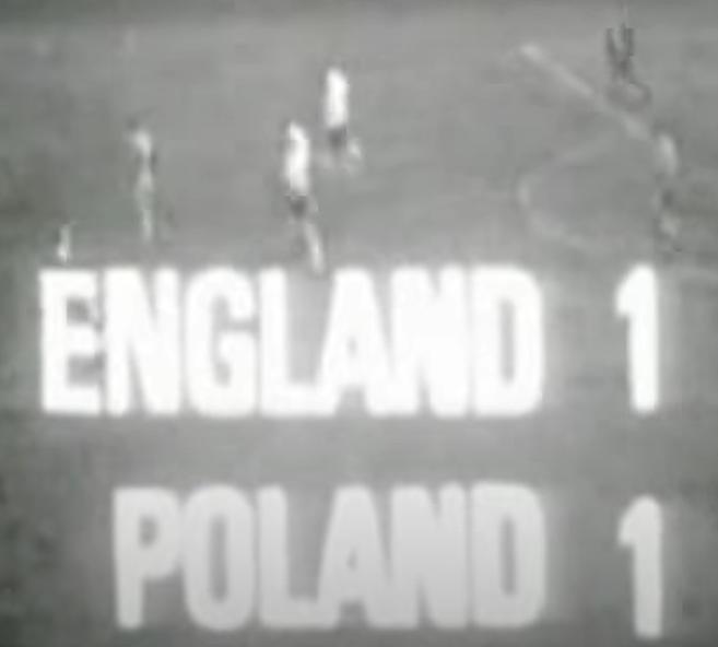 Anglia-Polska 1966