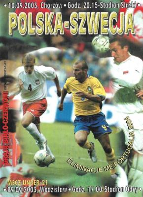 Polska - Szwecja 2003