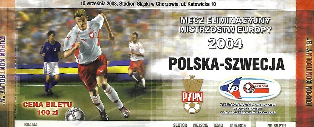 Szwecja - Polska 2004