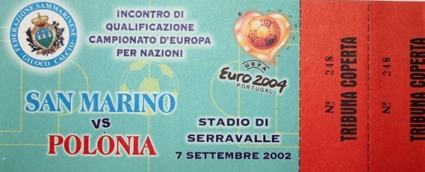 San Marino - Polska 2002