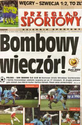 Polska-San Marino 2003.