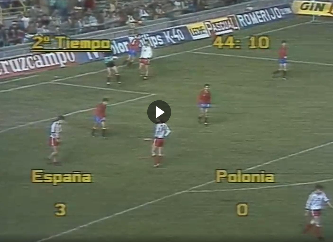 Hiszpania - Polska 1986