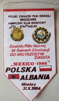 Polska - Albania - Mielec 1984