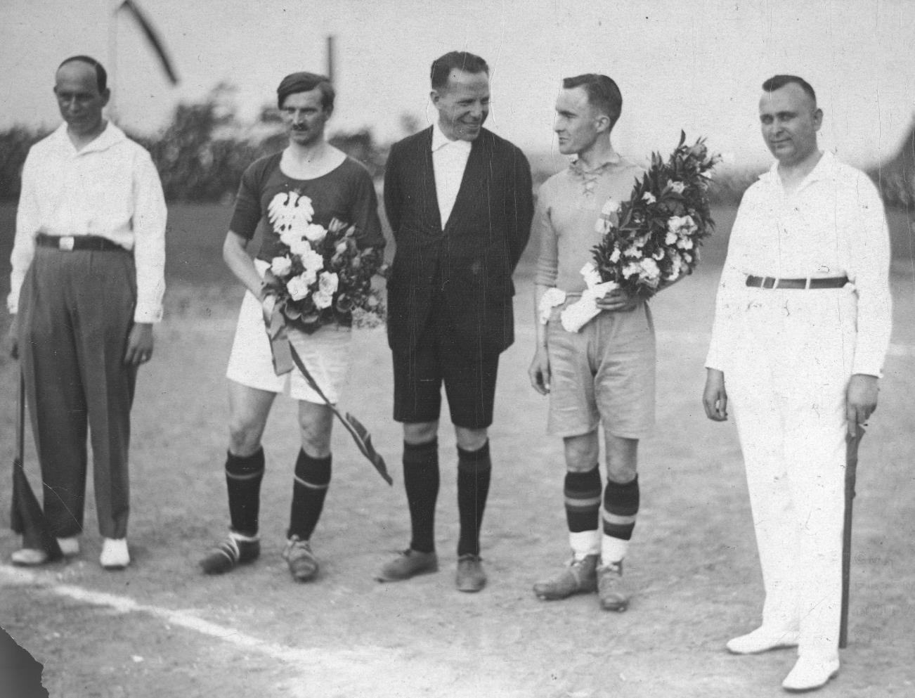 Polska - Szwecja 2-1 1.07.1928