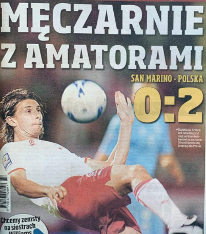 San Marino - Polska 2008