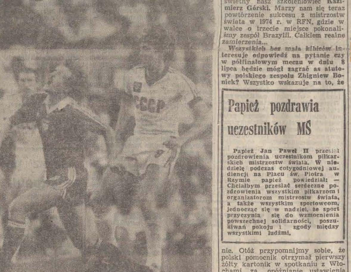 Polska - ZSRR Mundial 1982