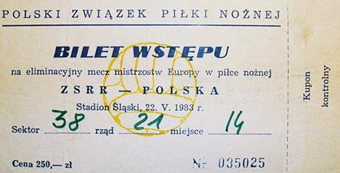 Polska - ZSRR 1983