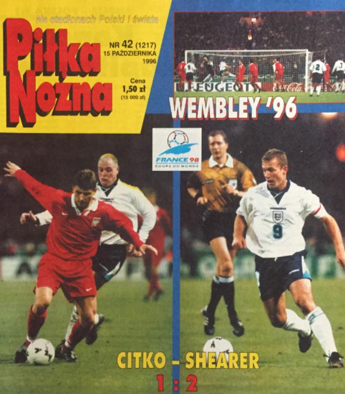 Anglia-Polska 1996
