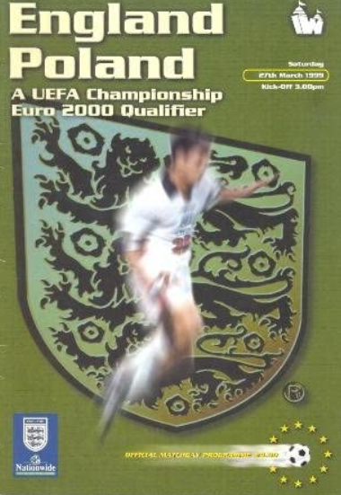 Anglia - Polska 1999