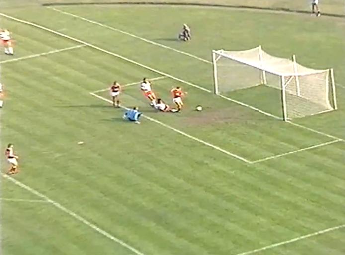 Polska - ZSRR 1989 gol Kiryakov
