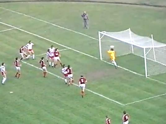 Polska - ZSRR 1989 gol Wdowczyk