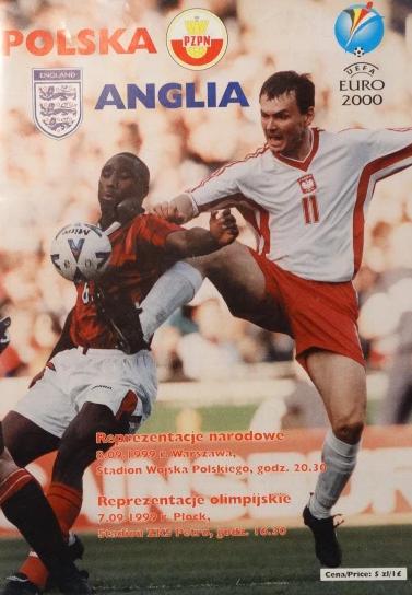 Polska- Anglia 1999