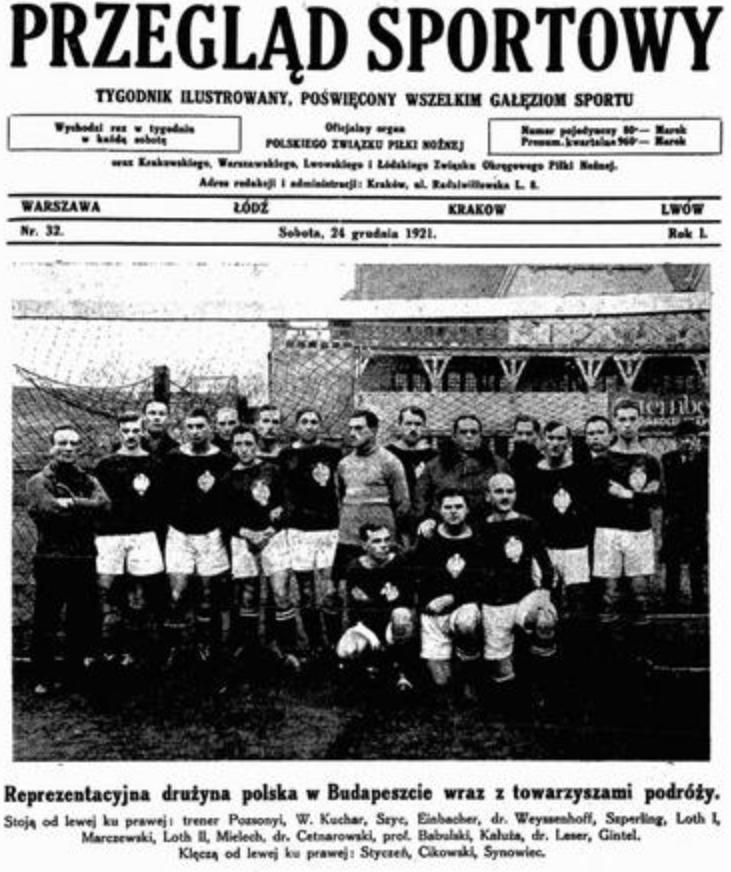 Węgry - Polska 1921.