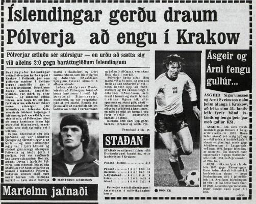 Polska-Islandia 1979