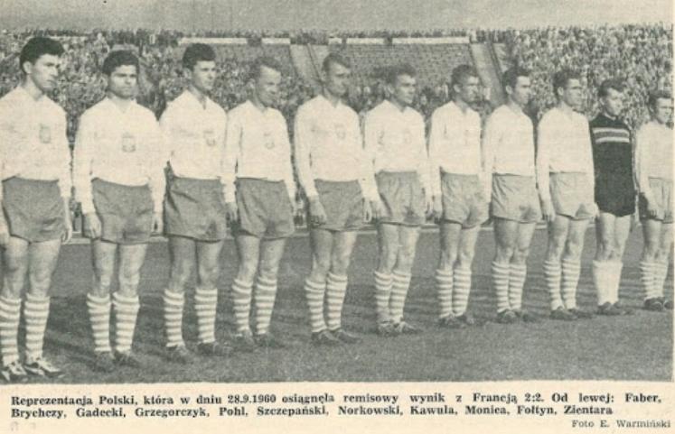 Polska - Francja 1960