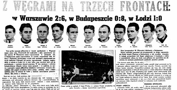 Polska - Węgry 1948