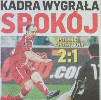 Polska - Argentyna 2011
