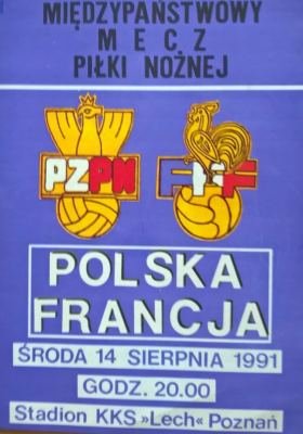 Polska - Francja 1991