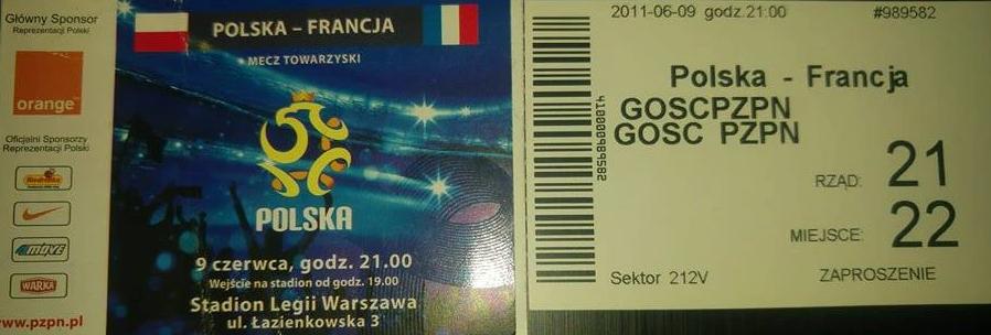 Polska - Francja 2011