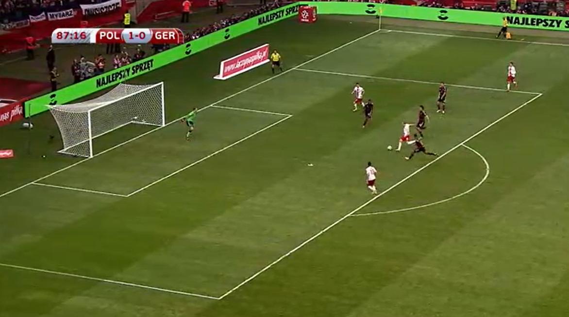 Polska - Niemcy 2-0 2014