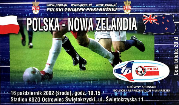 Nowa Zelandia - Polska 2002