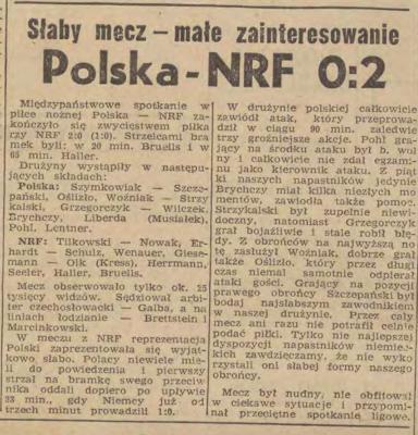 Polska - Niemcy 1961