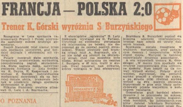 Francja - Polska 1976