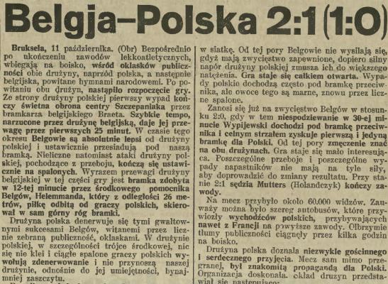 Belgia - Polska 1931