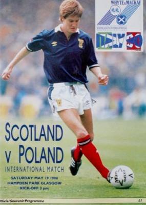 Szkocja - Polska 1990