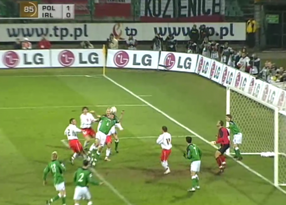 Polska - Irlandia Północna 2005