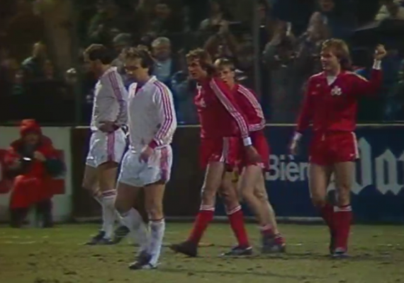 Szwajcaria - Polska 1984