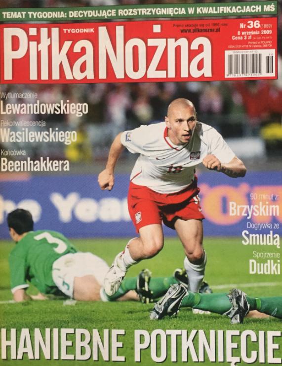 Polska - Irlandia Północna 1-1 2009