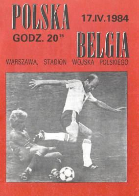 Polska - Belgia 1984