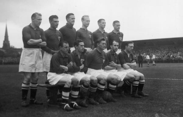 Dania - Polska 1934