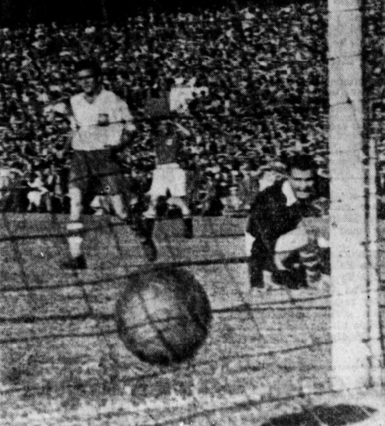 Dania - Polska 8-0 1948