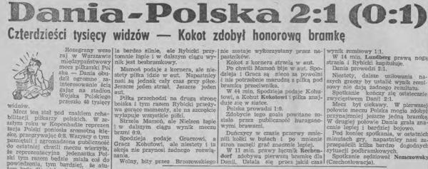Polska - Dania 1949