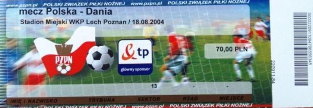 Polska - Dania 2004